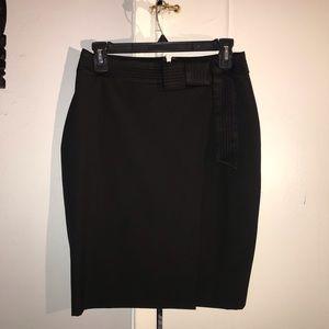 Black skirt petite size 0